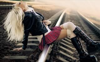 Fotografie di giovani ragazze Scolare informals